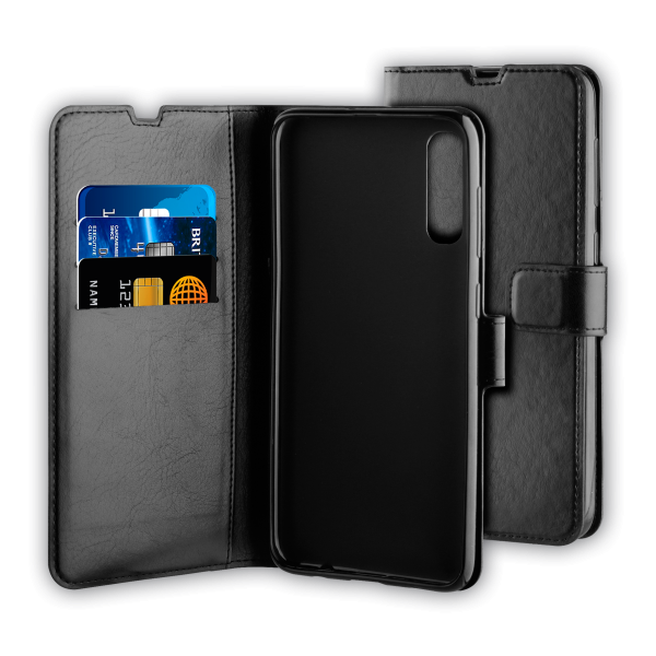 BeHello Samsung Galaxy A50 Gel Wallet Case Black
