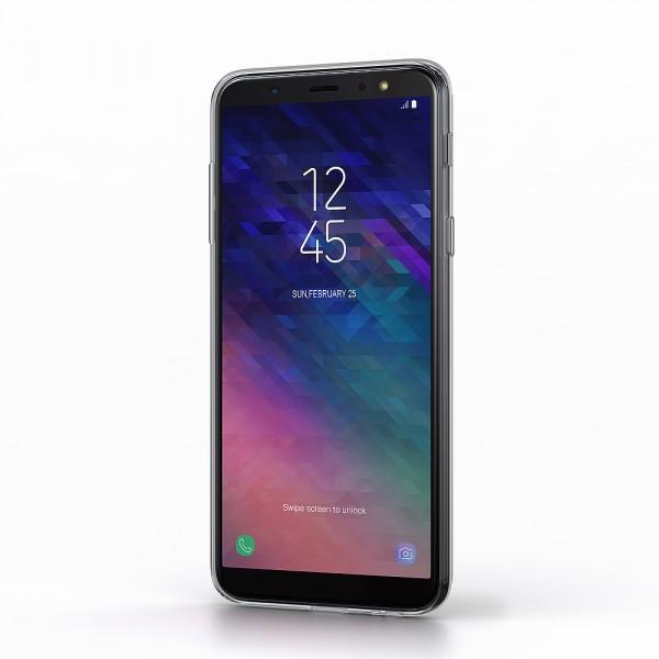 BeHello Gel Back Case Transparant voor Samsung Galaxy A6+