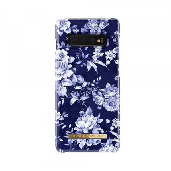 iDeal of Sweden Samsung Galaxy S10+ Fashion Back Case Sailor Blauw Bloom