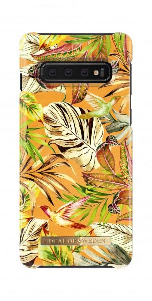 iDeal of Sweden Samsung Galaxy S10 Fashion Back Case Mango Jungle