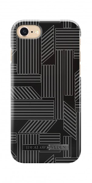iDeal of Sweden Back Case Fashion Geometric Puzzle voor iPhone 8 7 6s 6