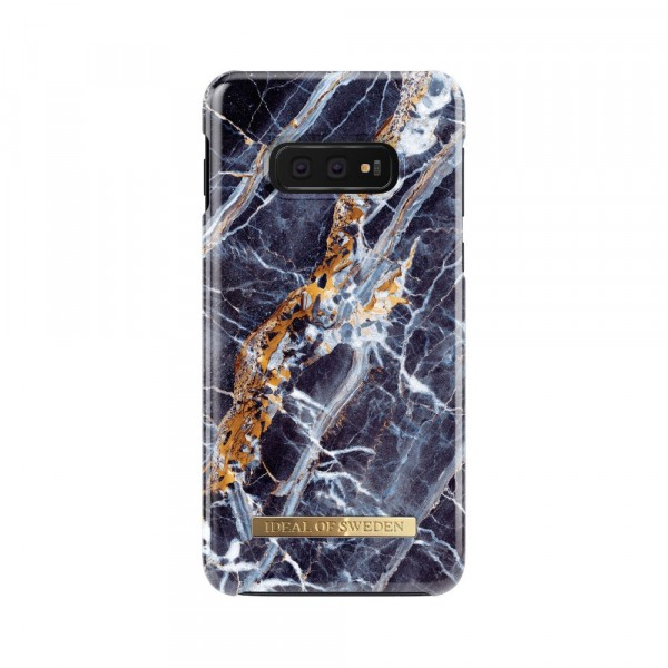 iDeal of Sweden Samsung Galaxy S10e Fashion Back Case Midnight Blauw Marble