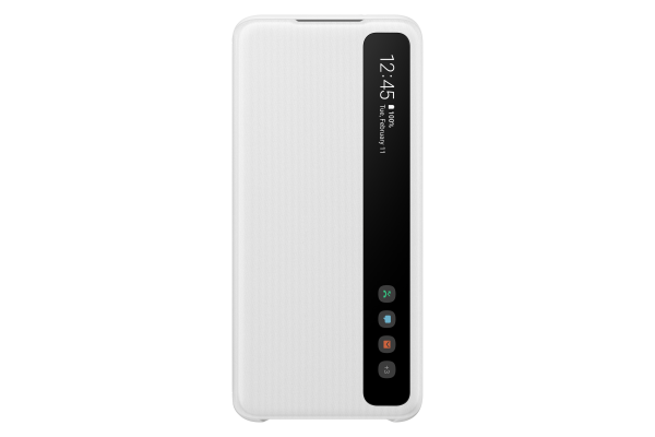 Samsung Galaxy S20 Clear View Cover White
