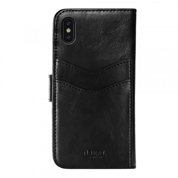 iDeal of Sweden Magnet Wallet+ Case Zwart voor iPhone Xs Max