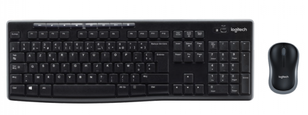 Logitech Wireless Combo MK270 Mouse/Keyboard QWERTY US