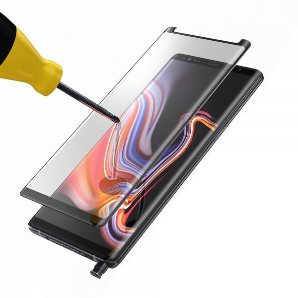 BeHello Samsung Galaxy Note 9 Screenprotector Tempered Glass - High Impact Glass
