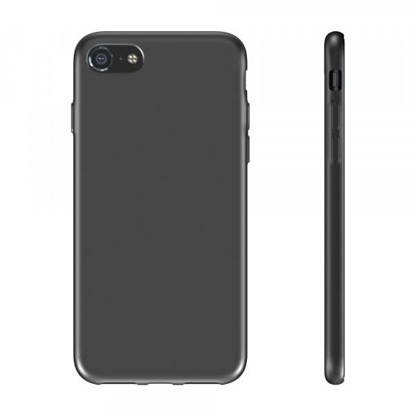 BeHello iPhone 8 / 7 / 6s / 6 Siliconen Hoesje Zwart
