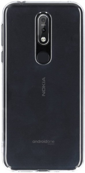 Nokia Clear Case Transparant voor Nokia 7.1