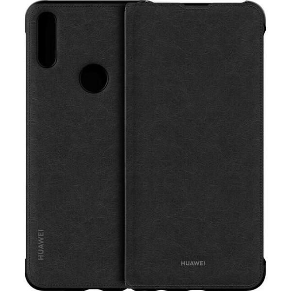 Huawei PU Flip Cover Black voor de P smart Z