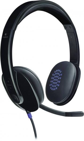 Logitech H540 USB Headset Black