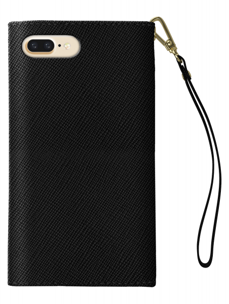 iDeal of Sweden iPhone Xr Mayfair Clutch Velvet Black
