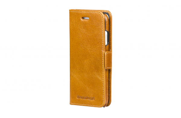 dbramante1928 2-in-1 Wallet Case Tan voor iPhone 8 7 6s 6