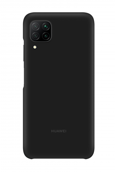 Huawei P40 Lite Silicone Cover Case Black