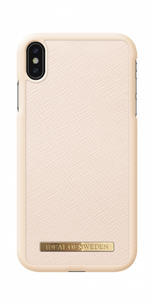 iDeal of Sweden iPhone XS Max Fashion Case Saffiano Beige