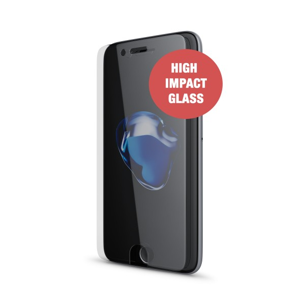 BeHello Screenprotector High Impact Glass voor iPhone 8 7 6s 6