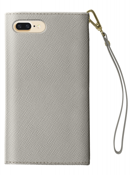 iDeal of Sweden iPhone XS Max Mayfair Clutch Light Grey