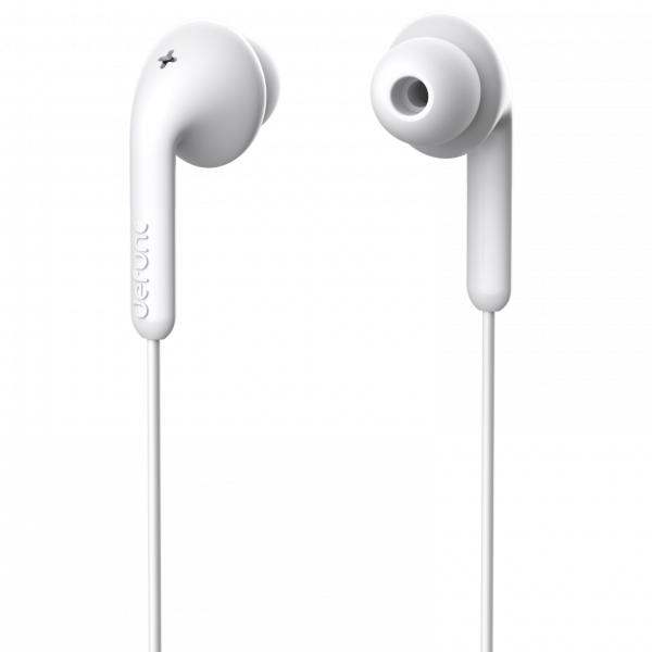 DeFunc In-Ear Basic Music Headphone White