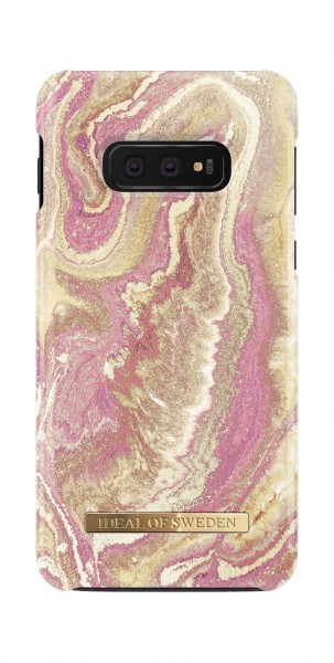 iDeal of Sweden Samsung Galaxy S10e Fashion Back Case Golden Blush Marble