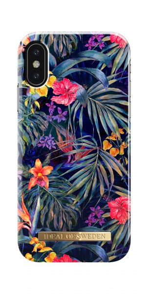 iDeal of Sweden iPhone X Fashion Back Case Mysterious Jungle