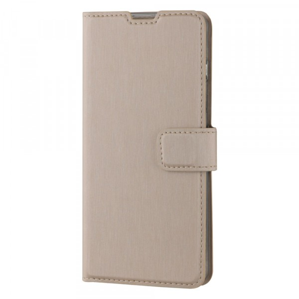 BeHello Samsung Galaxy S10 Hoesje - Gel Wallet Case Met Ruimte Voor 3 Pasjes Goud