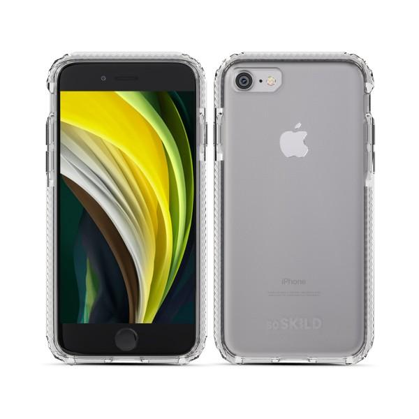 SoSkild Defend Back Case Transparant voor iPhone SE (2020) 8 7