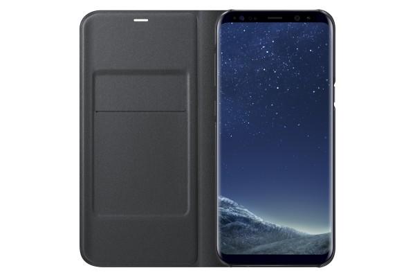 Samsung LED View Cover Book Case Zwart voor Samsung Galaxy S8+