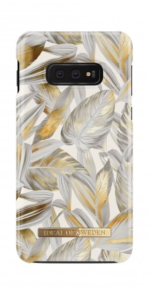 iDeal of Sweden Samsung Galaxy S10e Fashion Back Case Platinum Leaves