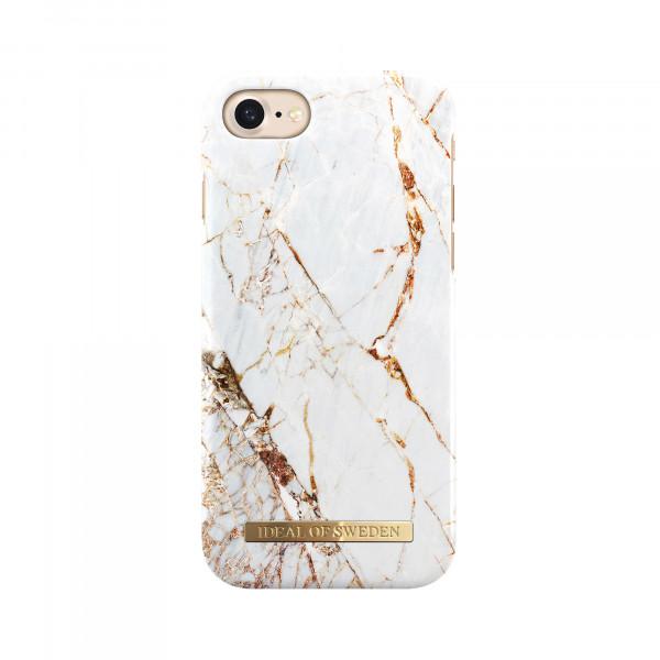 iDeal of Sweden Fashion Back Case Carrarra Gold voor iPhone 8 7