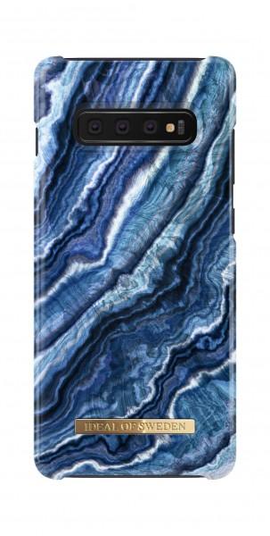 iDeal of Sweden Samsung Galaxy S10+ Fashion Back Case Indigo Swirl
