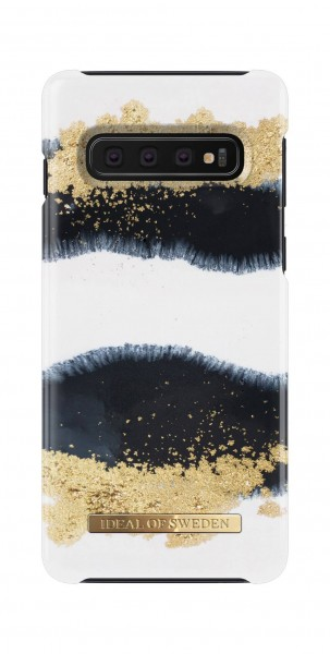iDeal of Sweden Samsung Galaxy S10 Fashion Back Case Gleaming Licorice