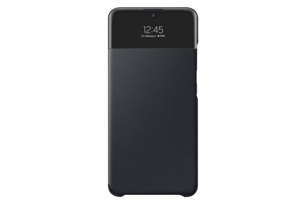 Samsung A32 LTE View Wallet Cover Case Black