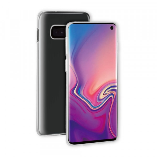 BeHello Samsung Galaxy S10E ThinGel Siliconen Hoesje Transparant