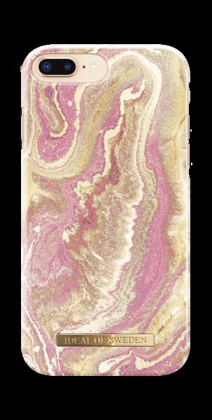 iDeal of Sweden iPhone 8 Plus / 7 Plus / 6S Plus / 6 Plus Fashion Back Case Golden Blush Marble