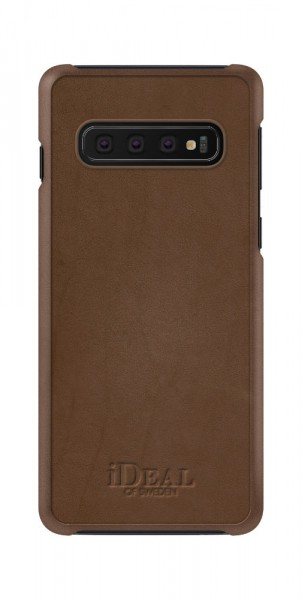 iDeal of Sweden Samsung Galaxy S10 Fashion Case Como Brown PU-Leather
