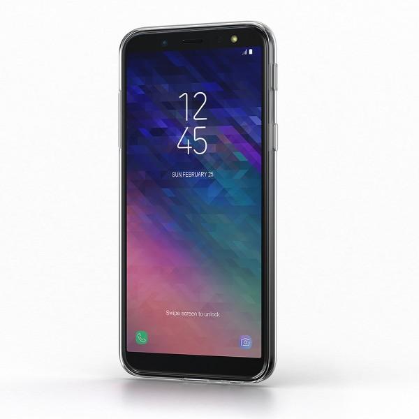 BeHello Samsung Galaxy A6 Gel Siliconen Hoesje Transparant