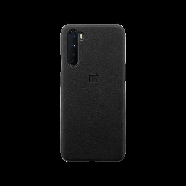 OnePlus Nord Sandstone Bumper Case Sandstone Black