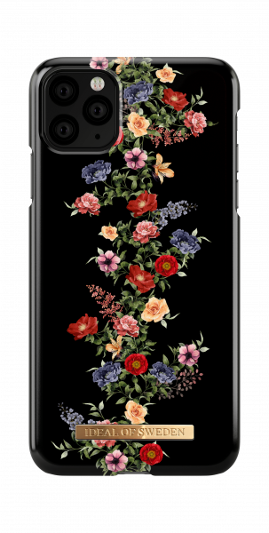 iDeal of Sweden iPhone 11 Pro Max Fashion Back Case Dark Floral