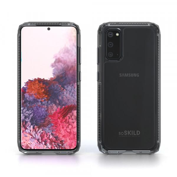 SoSkild Samsung Galaxy S20 Defend 2.0 Heavy Impact Case Smokey Grey