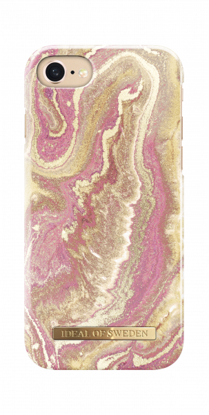 iDeal of Sweden iPhone 8 / 7 / 6S / 6 Fashion Back Case Golden Blush Marble