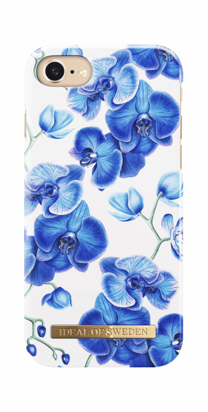 iDeal of Sweden iPhone 8 Plus / 7 Plus / 6S Plus / 6 Plus Fashion Back Case Baby Blue Orchid