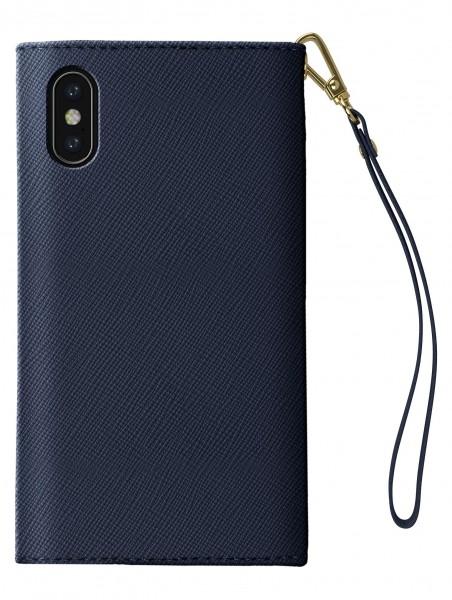 iDeal of Sweden Mayfair Clutch Donkerblauw voor iPhone X Xs