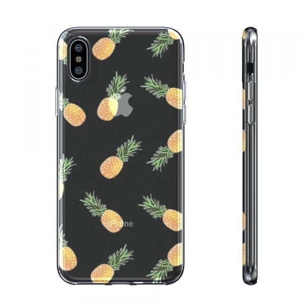 BeHello Gel Case Pinapple voor iPhone X Xs