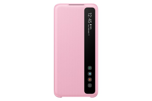 Samsung Galaxy S20 Clear View Cover Pink