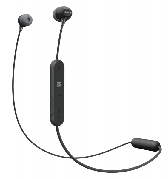 Sony WIC300B.CE7 Draadloze Koptelefoon In Ear Zwart