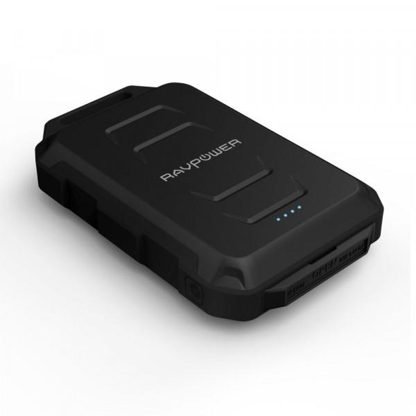 RAVPower RP-PB044 Powerbank 10.050 mAh Outdoor 2 USB Poorten 3.4A Zwart