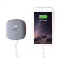 ZENS Powerbank Wireless Rechargeable 5200mAh Grey