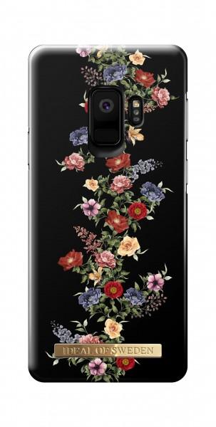 iDeal of Sweden Samsung Galaxy S9 Fashion Back Case Dark Foral