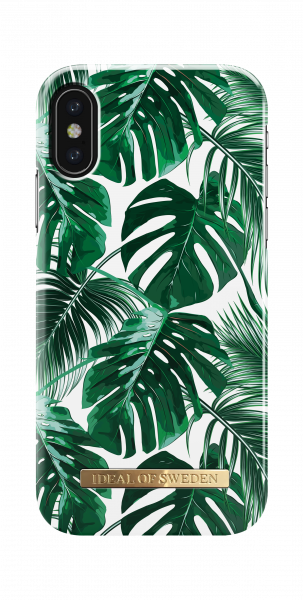 iDeal of Sweden iPhone XS/X Fashion Back Case Monstera Jungle