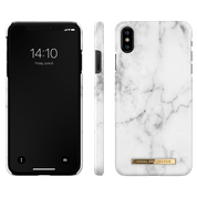 iDeal of Sweden iPhone X Fashion Back Case White Marble
