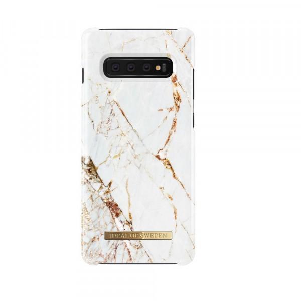 iDeal of Sweden Samsung Galaxy S10E Fashion Back Case Carrara Gold